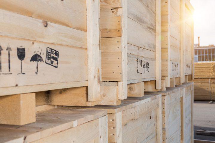 Verpackungen aus Holz, Sperrholz nach IPPC
